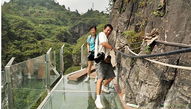 铜仁万山玻璃栈道5月运营 开启体验之旅
