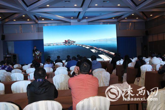 中国自驾万博新网站分会场——青海·茶卡盐湖西安推介展魅力