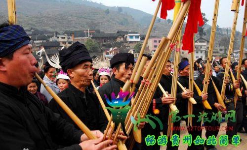 苗族的传统节日【芦笙节】