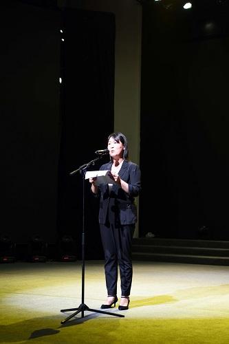 """""""中国有我 奋斗有我""""贵州省直文化和旅游系统青年诗歌咏诵会举行"""
