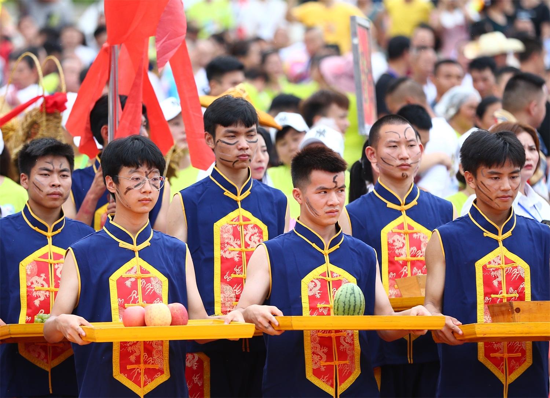 """德江县庚子年六月六""""水龙节""""开幕"""